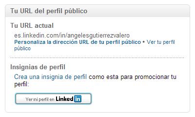 Cambia tu URL de tu perfil de Linkedin