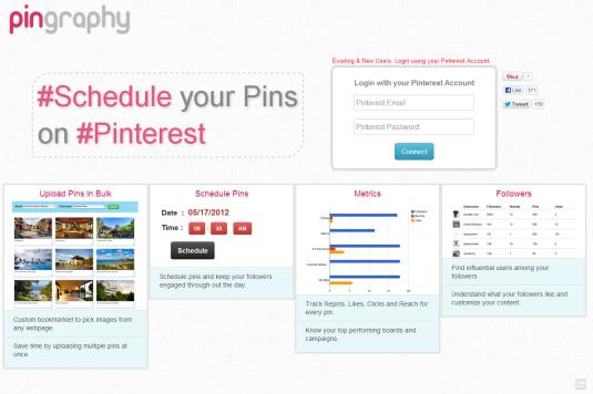 Programar Pins de Pinterest con Pingraphy