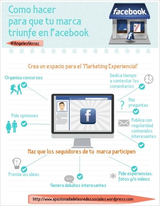 Como hacer triunfar una marca en Facebook