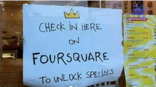 La gamificación en Foursquare