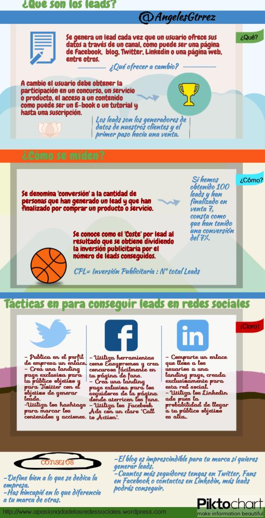 Que son los leads. Tácticas en Redes Sociales.