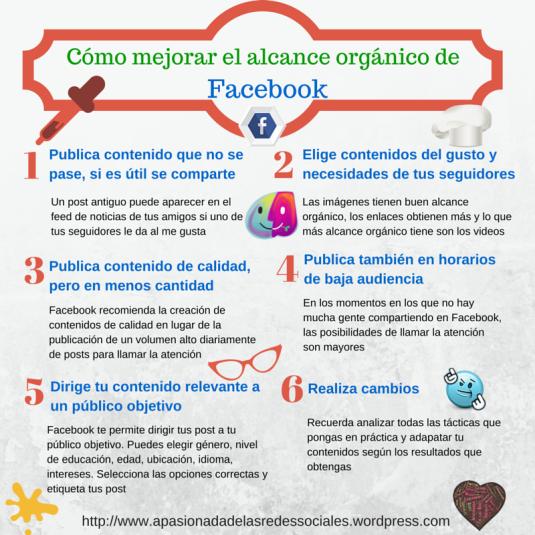 Mejorar el alcance orgánico de Facebook