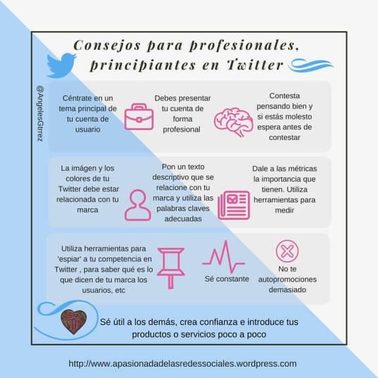 Twitter para profesionales principiantes